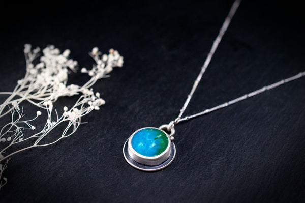 Mother Earth Turquoise Pendant