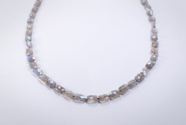 Modern Labradorite Necklace