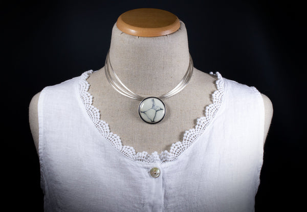 Ivory Creek Variscite Statement Necklace