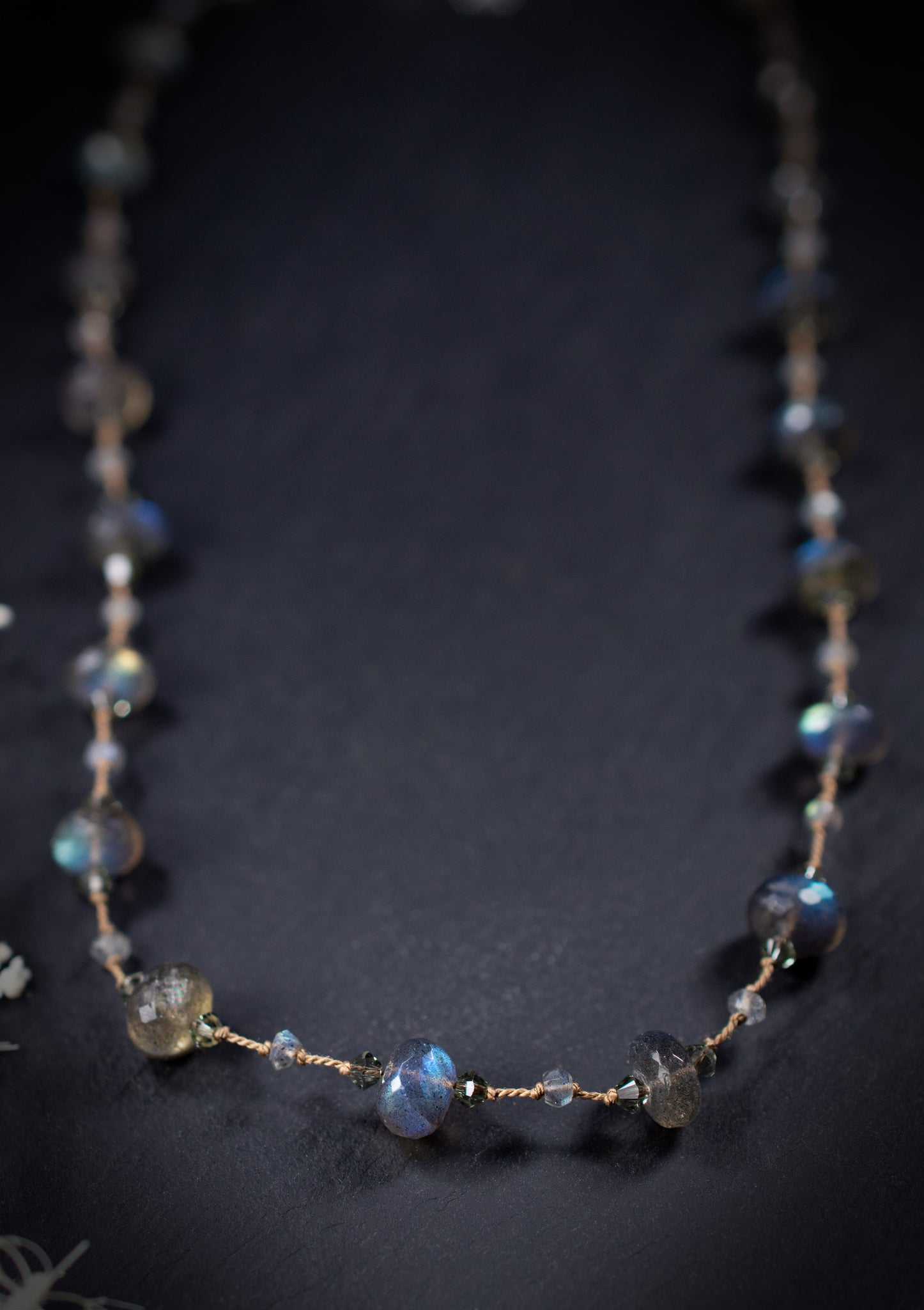 Labradorite Floating Necklace