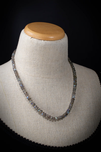 Labradorite Candy Necklace 22 inches