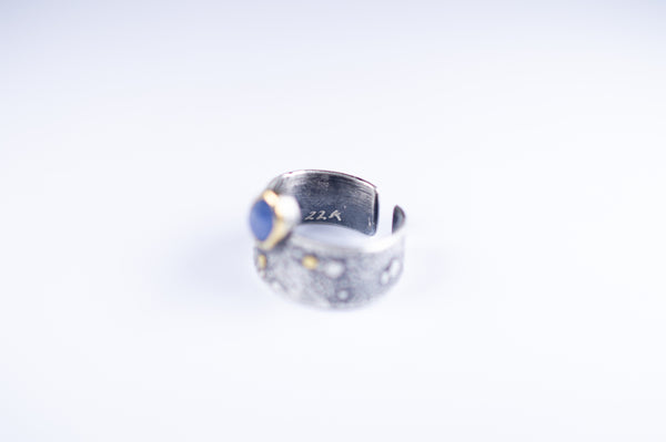 Of the Ancients Blue Sapphire Statement Ring
