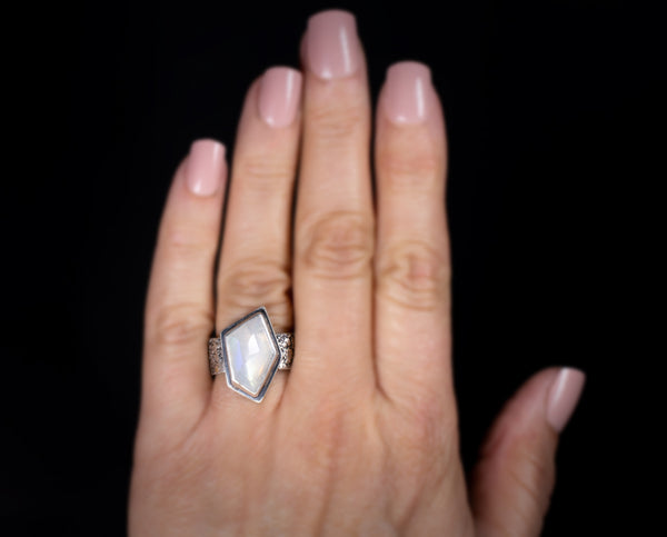 Will O' The Wisp Moonstone Ring