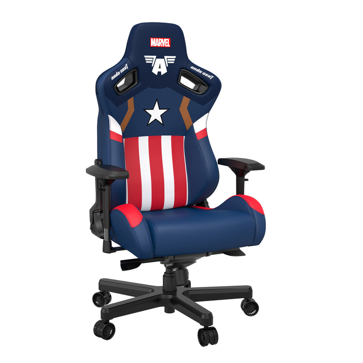 AndaSeat Captain America Edition Marvel Collaboration Series Gaming Chair