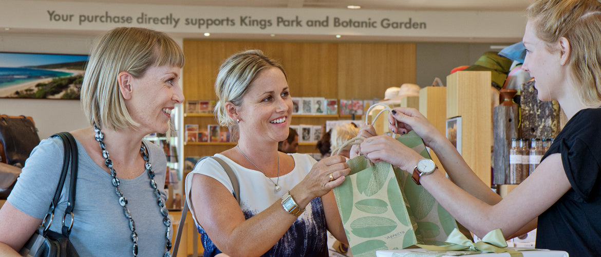 All purchases support Kings Park and Botanic Garden
