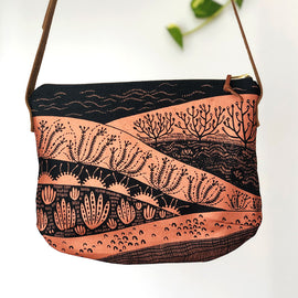 Sand Dunes Copper Shoulder Bag