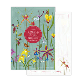 Australian Orchid Notepad