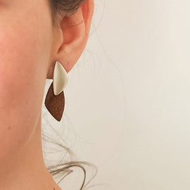 Petite Pebble Stud Earrings