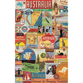 Australian Collage Jigsaw Puzzle