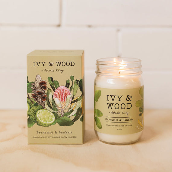 Bergamot and Banksia Candle
