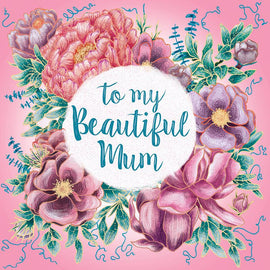 Beautiful Mum Bouquet Card