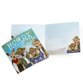 Howdy Birthday Boy Card