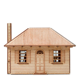 Town Cottage Model Kit