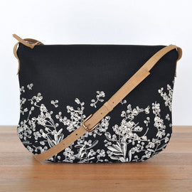 Pods Black Shoulder Bag