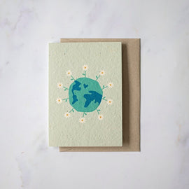 Planet Love Plantable Card
