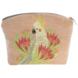 Aussie Birds Tapestry Cosmetic Bag