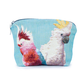 Cockatoo Tapestry Cosmetic Bag