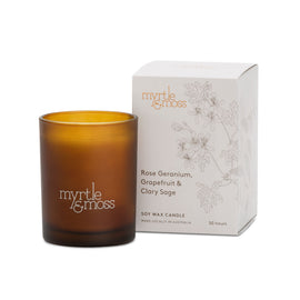 Rose Geranium Candle