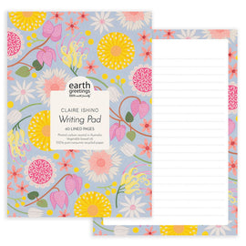 Wildflower Moorland Desk Writing Pad