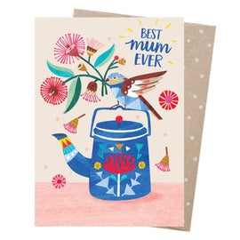Best Mum Teatime Card