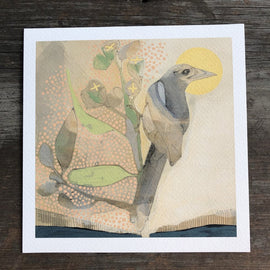 Magpie and Eucalyptus Print