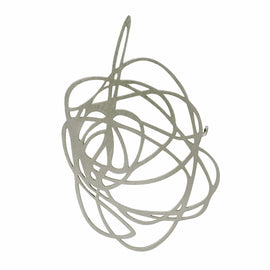 Scribble Brooch