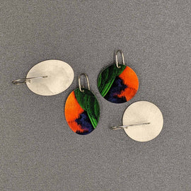 Kelli Small Disc Earrings