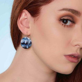 Kira Small Disc Earrings