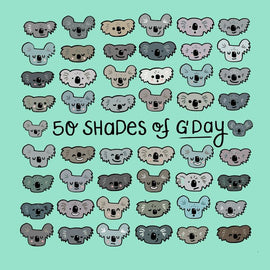 50 Shades of G'day Card