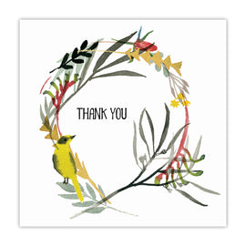 Native Wreath Thank You Card