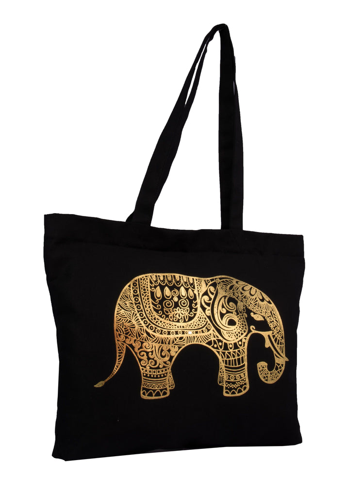 Tote Bag with golden print