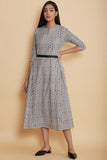 Handwoven Striped Cotton Kali Dress