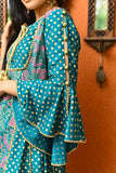 Multicolor kurta with palazzo and dupatta
