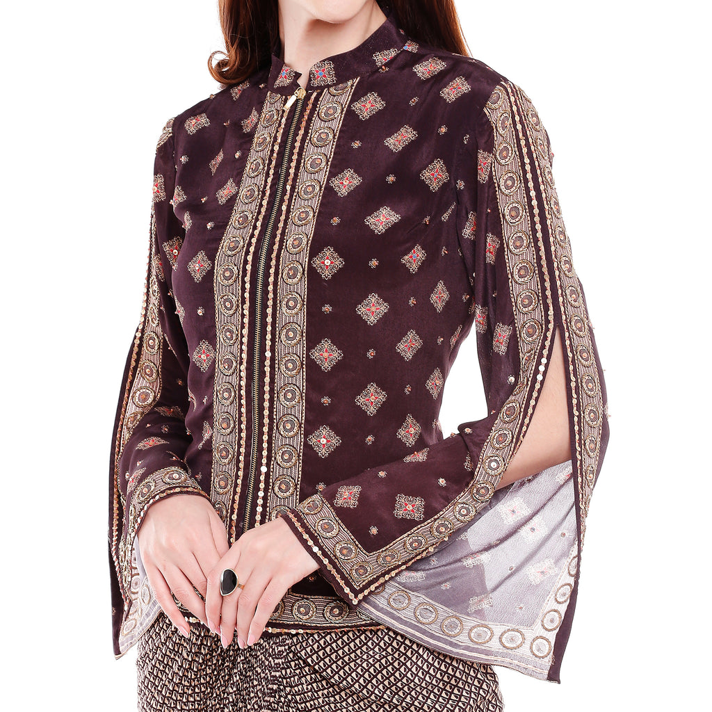Dhoti jacket set