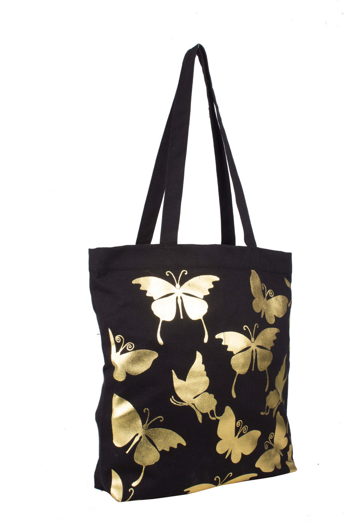 Canvas Tote Bag in black