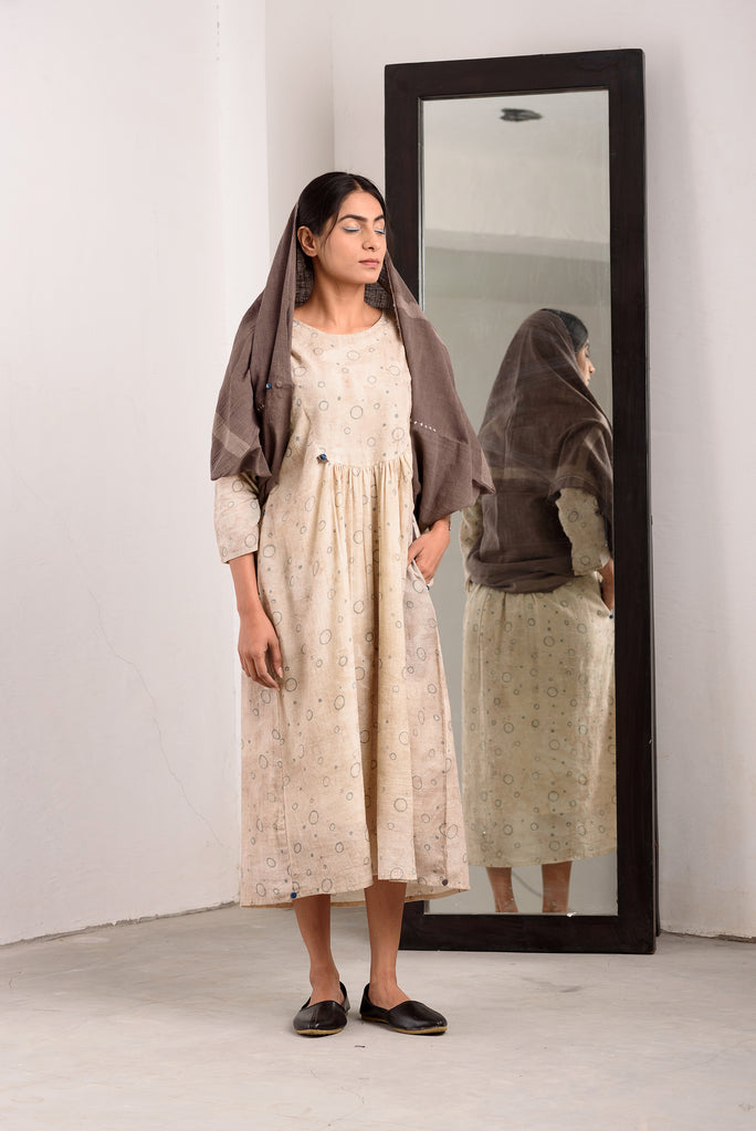 """kashish 2-way wrap muddy dress"""