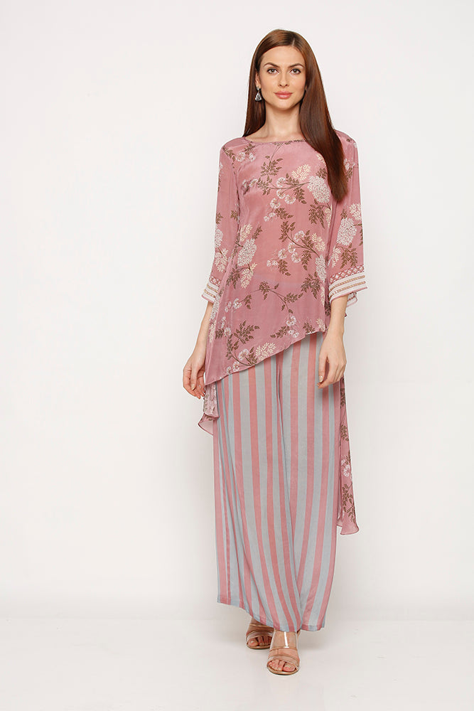 MELLOW ROSE TOP WITH PALAZZO