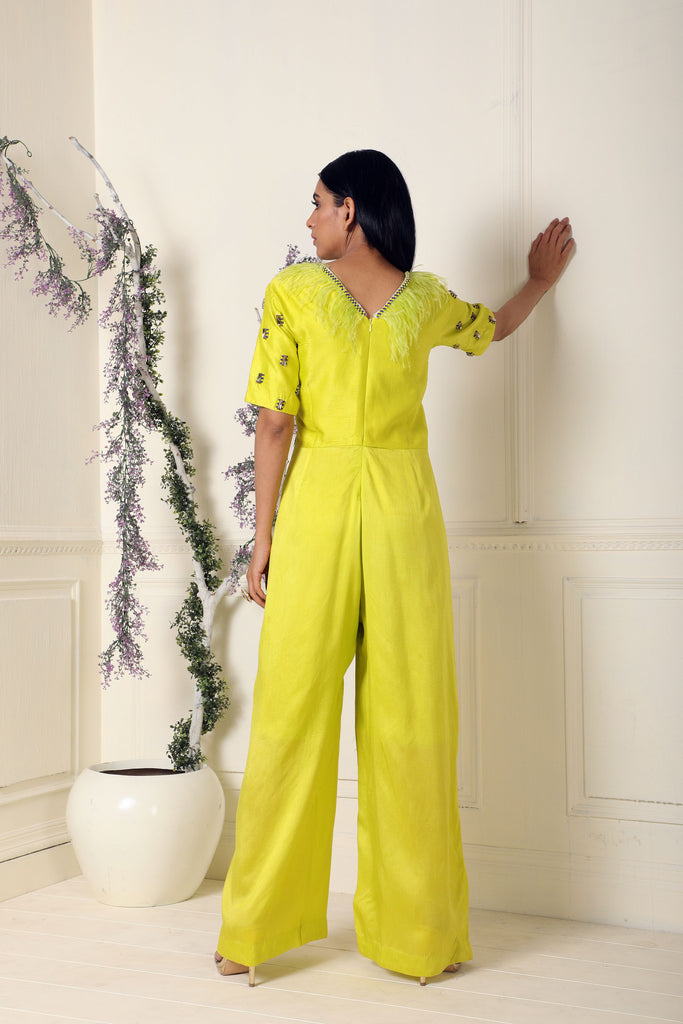 Lime Jumpsuit