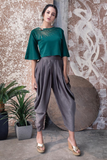 SCUBA TOP AND DHOTI SET