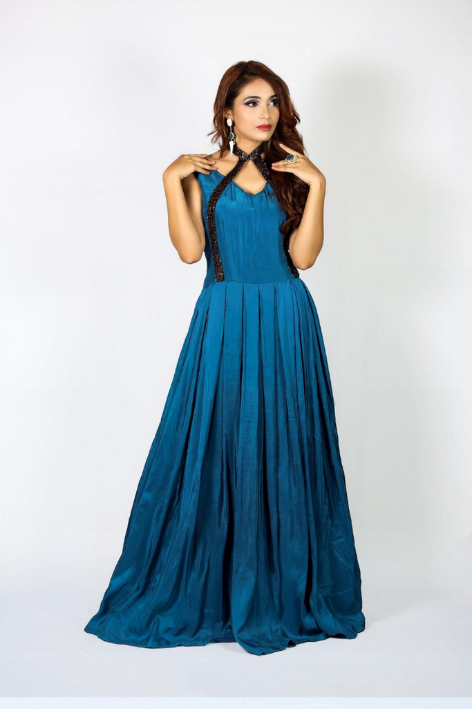 Upada silk gown