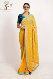 SAREE WITH RESHAM & ZARDOZI WORK