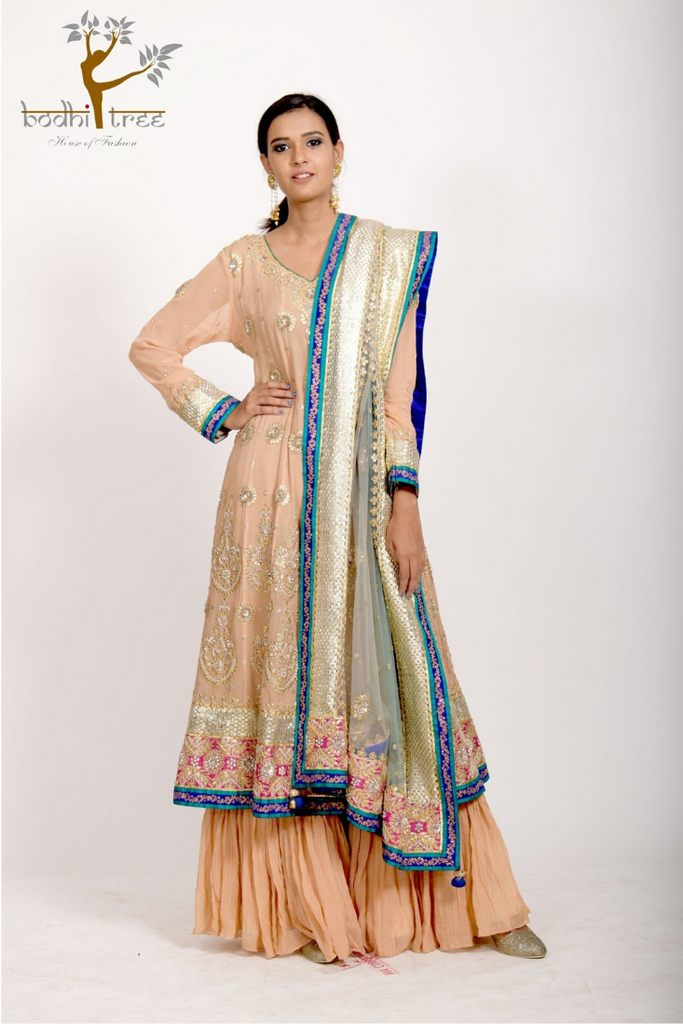 KURTA WITH GHARARA & DUPATTA