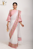 PRE- DRAPED SAREE & POTLI BAG