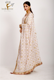 KURTA WITH CHANDERI INNER LAYER & EMBROIDED DUPATTA
