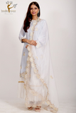 STRAIGHT SHIRT WITH GHARARA & DUPATTA
