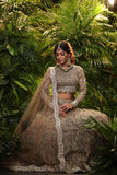 EARTHY NUDE COLOUR LEHENGA EMBELLISHED WITH DORI AND APPLIQUE EMBROIDERY