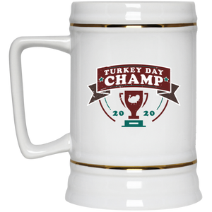 Thanksgiving Day Champ Stein