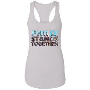 Philly Stands Together Women's Racerback Tank