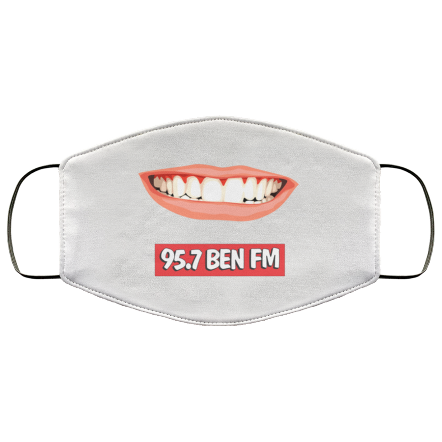 BEN FM Smile Face Mask
