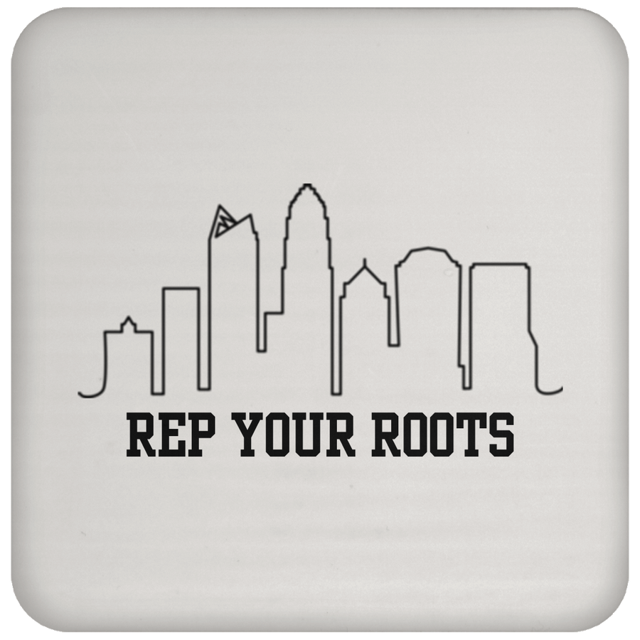 Rep Your Roots Coaster